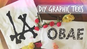 diy graphic tees without transfer paper