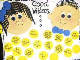 First Grade Wow Good Writers Anchor Chart