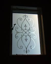 Sandblast Glass Designs Gallery Cordoba Sandblasted Decorative Etched Glass Window