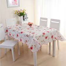 pvc tablecloth waterproof table cover party picnic round tablecloth round plaid tablecloths
