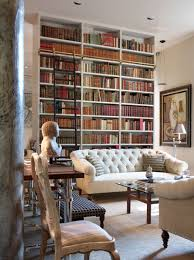 Appealing Beautiful Home Library Design Pics Decoration Inspiration