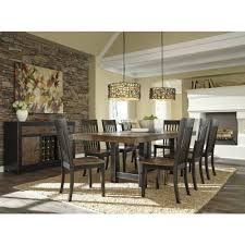 Ashley Furniture Kitchen Chairs Ashley Furniture Emerfield Rectangular Dining Extended Table Set