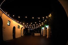string lights outdoor