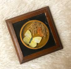 dried flowers erfly shadow box small framed hanging wall art