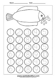 3_kindergarten_number_worksheets_1_5 number worksheets bosschens on one and two step equations worksheet