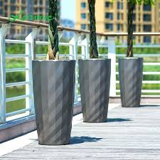 extra large outdoor planters for uk pots stone garden pot lazy pp resin modern
