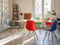 eames dining chair. Vitra Eames Plastic Side Chair DSW Dining T