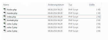 PHP/Tutorials/Templates/Dateien mit include nachladen – SELFHTML-Wiki