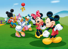 Mickey Mouse Wallpaper For Bedroom Xxl Poster Wall Mural Wallpaper Disney Mickey Mouse Donald Minnie
