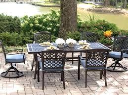 meridian 6 piece patio dining set 6 piece patio dining set park slope dining set alfresco