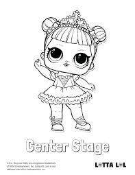 Lol Doll Coloring Pages Best Surprise Dolls Series 1 Coloring Pages