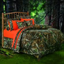 image is loading orange brown green forest camo twin comforter set