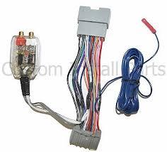 factory radio add a amp amplifier sub interface wire harness factory radio add a amp amplifier sub interface wire harness inline converter