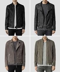 men s allsaints leather jackets
