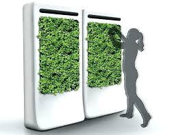 indoor vertical garden. Grow Vertical Garden Indoor Purifies The Air While Growing Fresh Veggies