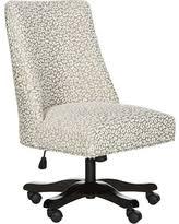 leopard print office chair. exellent print safavieh leopard print swivel desk chair white to office chair