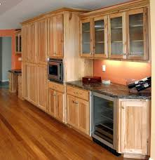 Natural Oak Kitchen Cabinets Painted Kitchen Cabinets With Natural Wood Doors Quicuacom