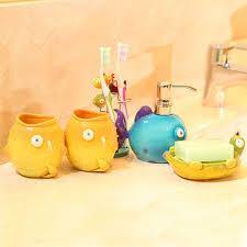 Decorative Bathroom Accessories Sets kids bathroom accessories sets Choosing The Right Bathroom 58