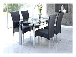 black glass dining table 4 chair dining set lovely black glass dining table and 4 chairs