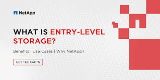 What Is Entry Level Storage Benefits Use Cases Netapp