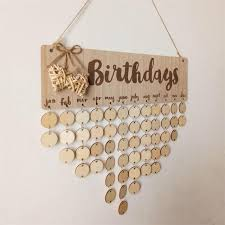 Birthday Anniversary Calendar Birthday Anniversary Calendar Signature Diy Families Friends Plans