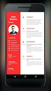 Resume Maker App Thian New Best Resume Creator App
