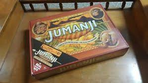 Wooden Jumanji Board Game Jumanji Board Game by Cardinal WOODEN BOX New Sealed LAST ONE eBay 2