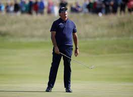 Mickelson in a jam after 80 at Sandwich ...
