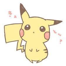 anime chibi pikachu drawing.  Chibi Cute Chibi Pikachu With Anime Chibi Pikachu Drawing A