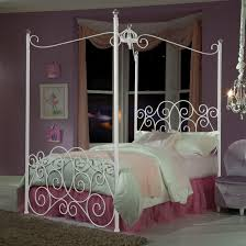 Standard Furniture Princess Canopy Beds Full Metal Canopy Bed With ...