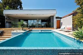 modern pool designs. Modern Pool Design With Double-sided Infinity Edge Designs