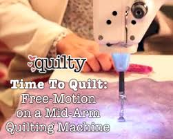 Time To Quilt: Free-Motion on a Mid-Arm Quilting Machine | Quilts ... & Time To Quilt: Free-Motion on a Mid-Arm Quilting Machine Adamdwight.com