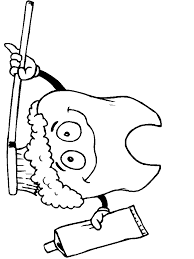 Small Picture Dental Coloring Pages For Kids Teeth Printables Preschool