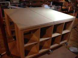 Kitchen Work Table On Wheels Craft Sewing Work Table Hack Ikea Hackers Could Also Work As