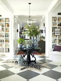 round entry hall table