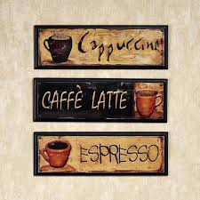 cafe wall decor cafe latte wall decor 8 best coffee kitchen decor images on coffee wall decor kitchen