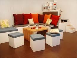 Inspiring Small Living Room With Multifunctional Furniture Idea