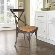 exclusive ideas x back dining chairs espresso chair set of 2 dwc 410esp the