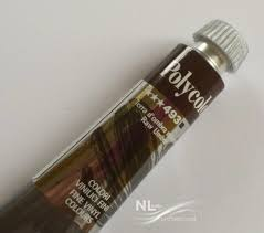 Raw Umber Akrylové Barvy Polycolor Nl Nails Profesional