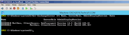 Exchange Server 2016 Installation Step By Step Guide Coexistence