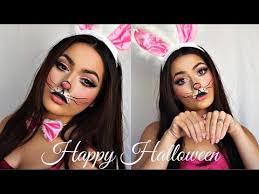 cute bunny makeup tutorial video clip