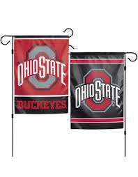 wincraft ohio state buckeyes 12 5x18 2 sided garden flag