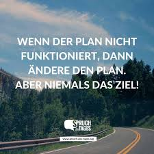 Wenn Der Plan Nicht Funktioniert Dann ändere Den Plan Aber Niemals