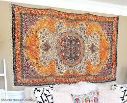 rug wall art how to hang a rug like a