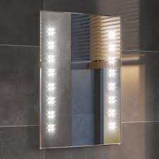 Modern Backlit Slimline Illuminated Bathroom Mirrors with Light