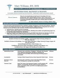 Example Of Rn Resume Sample New Rn Resume Latter Example Template