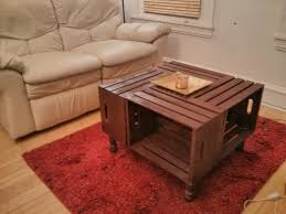trendy wine box coffee table 3 wooden crate ideas