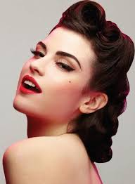 easy pin up hairstyles for long hair photo 10