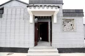 Winsun Decoration Design Engineering Co 100dersorg WinSun 100D prints two gorgeous concrete Chinese 91