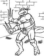 We4you2 Kleurplaten Van Teenage Mutant Ninja Turtles Tv Serie